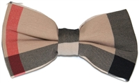 Men's Burberry Plaid Bow Tie
