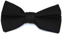 Men's Black Bow Tie