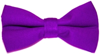 Men's Purple Bow Tie