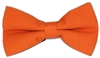 Men's Orange Bow Tie