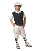 Children's golf Outfit - White knickers, Cap, Navy Sweater and Argyle Socks