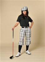 Women's Royal Troon Check Golf Knickers