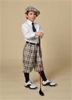 Children's Turnberry Plaid Golf Knickers