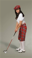 Women's Turnberry Plaid Golf Knickers