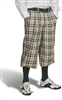 Men's Turnberry Plaid Golf Knickers
