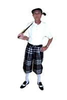 Black Plaid Knickers Starter Outfit