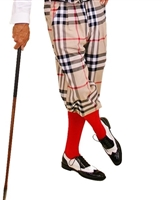 Burberry Plaid Golf Knickers for Men