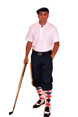 Red White Blue Golf Knicker Outfit