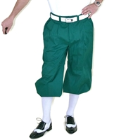 Dark Green Golf Knickers for Men