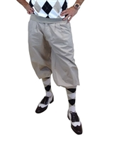 Grey Golf Knickers for Men