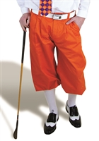 Orange Golf Knickers for Men