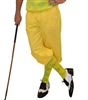 Yellow Golf Knickers for Men