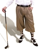 Camel Silk Touch Golf Knickers for Men