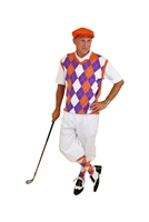 Clemson Orange and White Golf knickers Outfit