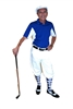 Royal Team Polo with White Kings Cross Knickers