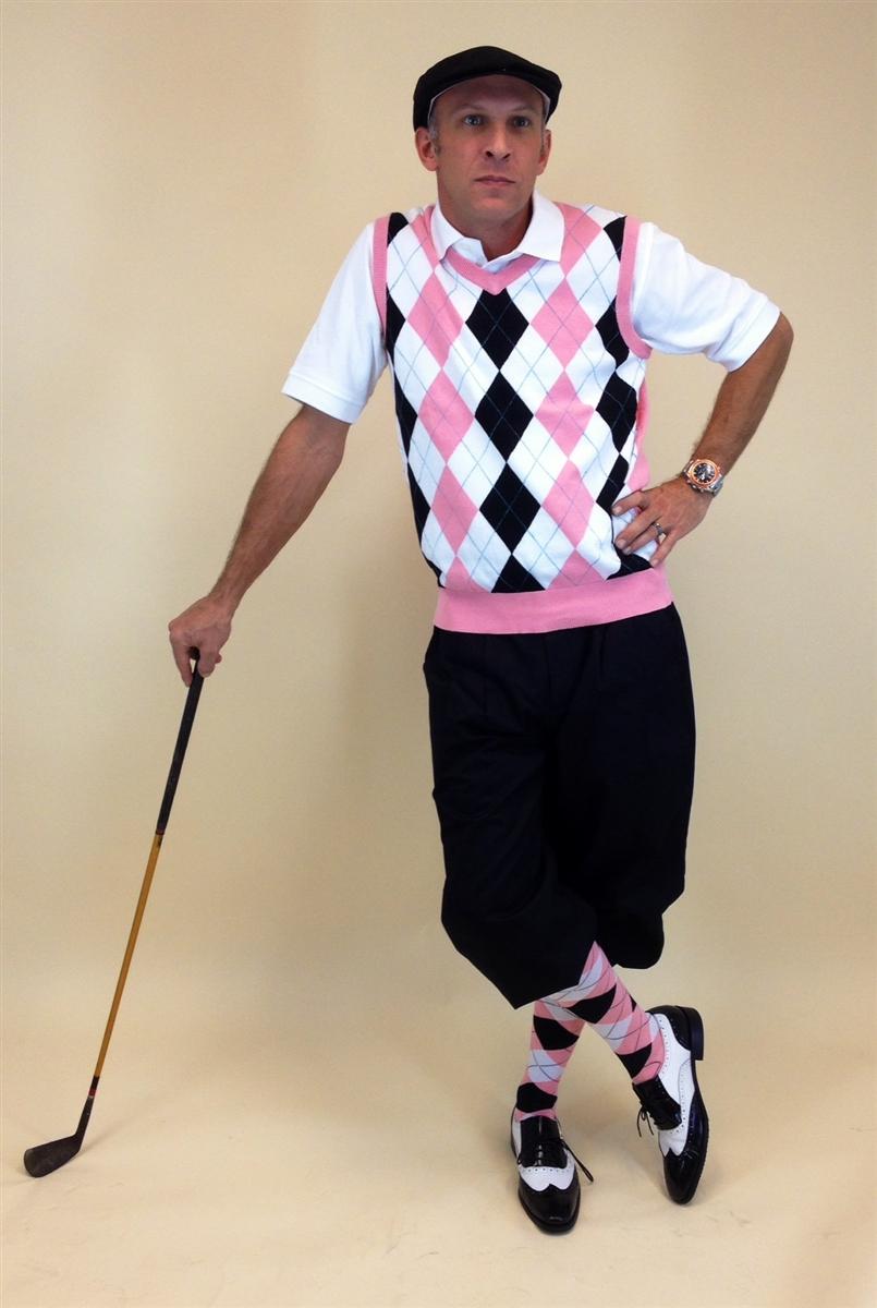 Golf Fashion Black Shoes
