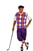 Purple Golf Knicker outfit