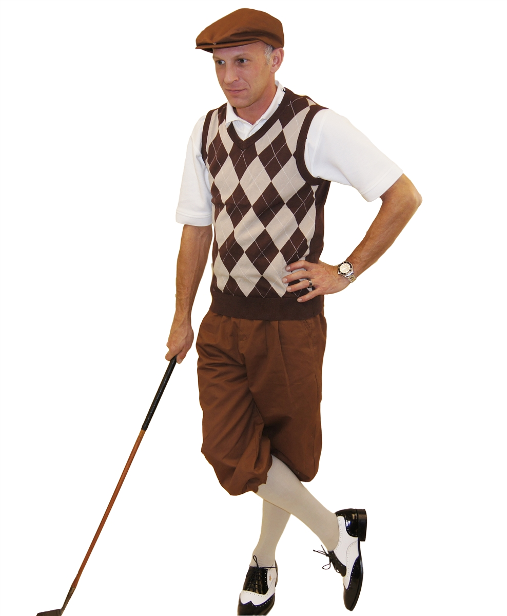 Brown Golf Shoes Outfit