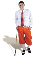 Orange Knickers with dress Shirt Outfit