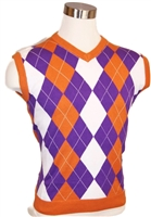 Men's Argyle Golf Sweater Vest