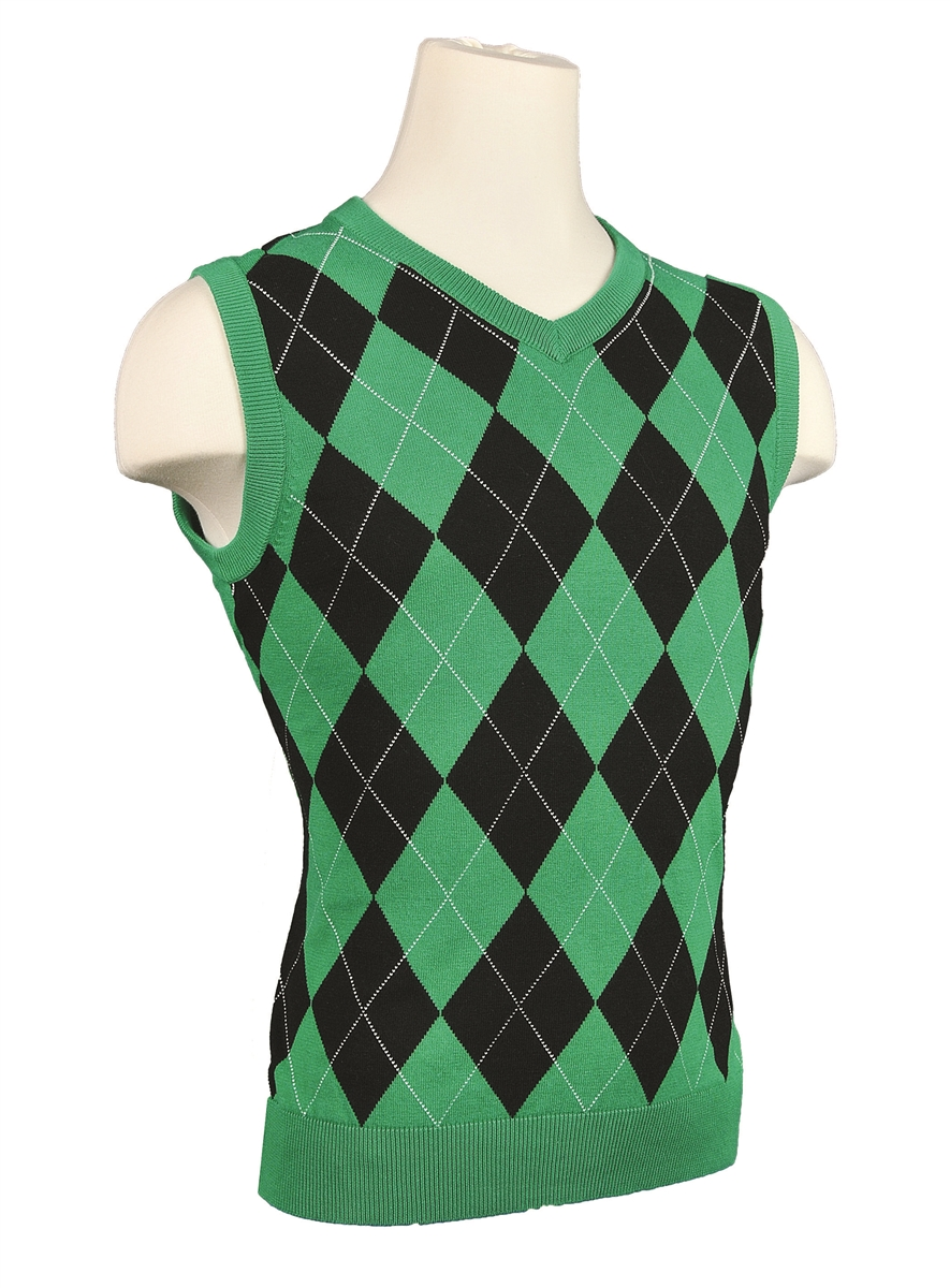 Mens Argyle Golf Sweater Vest - Most Popular Sweater 2017