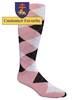 The Highlands Argyle Golf Sock Collection