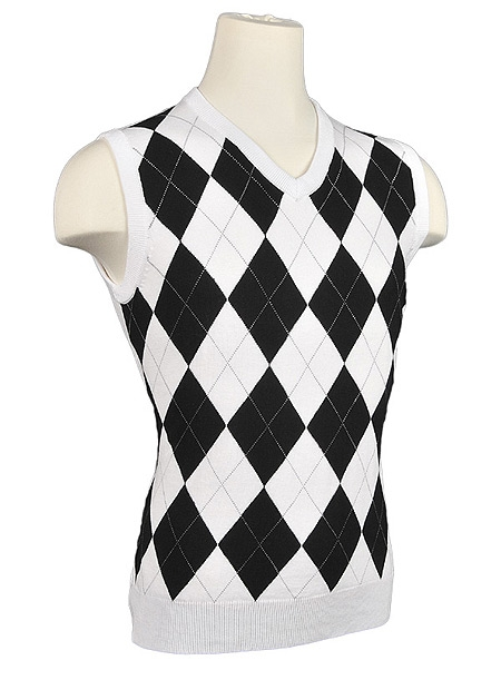 Women's Argyle Golf Sweater Vests