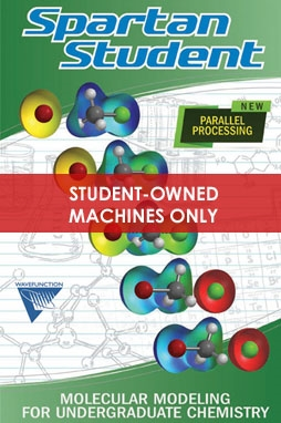 Spartan Student Edition (Version 8) for Windows or Macintosh (Download)