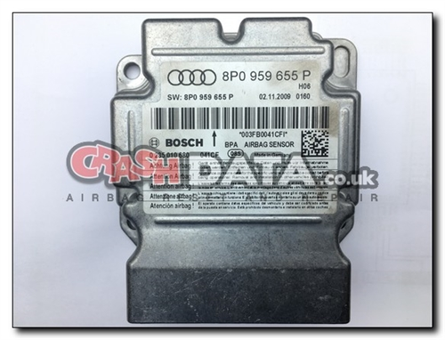 8P0 959 655 P AUDI Airbag Module Repair 0 285 010 680
