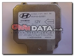 Hyundai 95910-02001 airbag module reset and repair