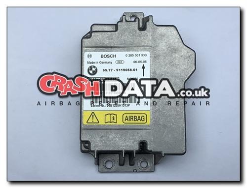 65 77-9119058-01 BMW Airbag Module Repair and Reset 0 285 001 533