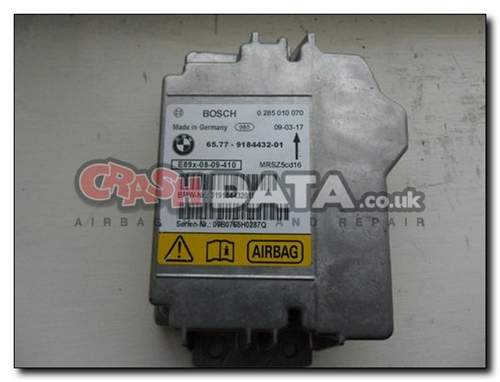 65 77 9184432-01 BMW 1, 3 and X5 SERIES Airbag Control Module Reset and  Repair 0 285 010 070