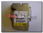 BMW 65.77-3453791 Bosch 0 285 010 086 airbag module reset and repair by Crash Data