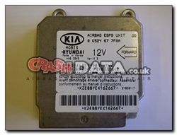 Kia 0 K52Y 67 7F0A Mobis airbag module reset and repair by Crash Data