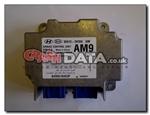 Kia Soul 95910-2K350 airbag module reset and repair by Crash Data 5WK44178