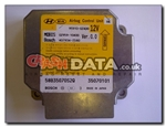Kia 95910-0Z400 Mobis/Bosch 0Z959-10400/407934-7580 airbag module reset and repair by Crash Data