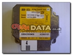 Kia 95910-1F400 Delphi/Bosch SA3103000/407934-4684 airbag module reset and repair by Crash Data
