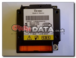 Fiat Citroen Peugeot 1400987180 Airbag Module Reset and Repair