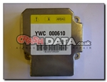 Land Rover YWC000610 Siemens 5WK43117 airbag module repair reset by crashdata.co.uk