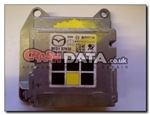 Mazda BFD1 57K30 Bosch 0 285 011 057 airbag module reset and repair by Crash Data