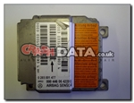 Mercedes 000 446 06 42 Bosch 0 285 001 477 airbag module reset and repair by Crash Data