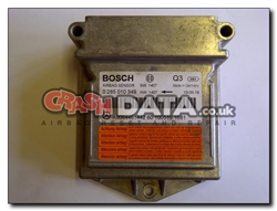 VW Mercedes A9064461442 airbag module reset and repair 0 285 010 349