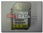 Mini 65.77-6915886 Bosch 0 285 001 430 airbag module reset and repair by Crash Data