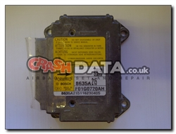 Mitsubishi 8635A215 airbag module reset and repair by Crash Data F01G0720AH