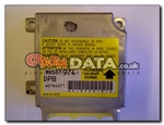 Mitsubishi MR587974 DPB  W2T6437 airbag module reset and repair by Crash Data