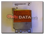 Nissan 98820 CD50A airbag module reset and repair by Crash Data