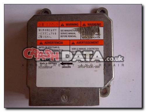 38910-83E01-000 VAUXHALL AGILA SUZUKI WAGON R+ 5WK42898 Airbag Module Reset