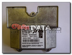 Vauxhall Astra 13 249 347 SDM Unit Reset and Repair 327963935
