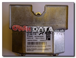 Vauxhall Astra 13 288 176 Airbag Control Unit Repair and Reset 327963935