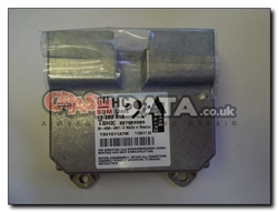 Vauxhall Corsa 13 283 818 HC SDM Unit Reset and Repair 327963935